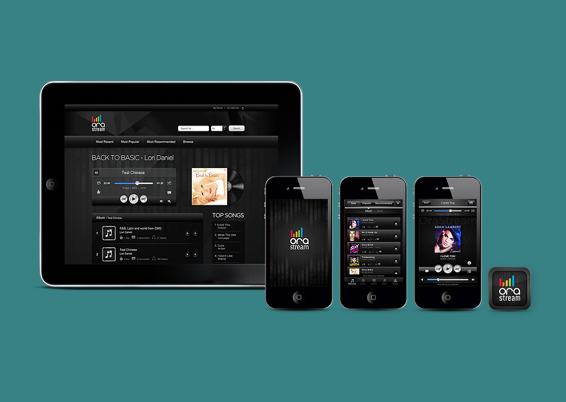 OraStream Music Streaming