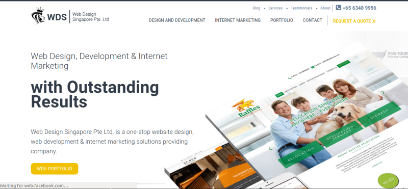List of Web Designing Companies in Singapore | Vinova