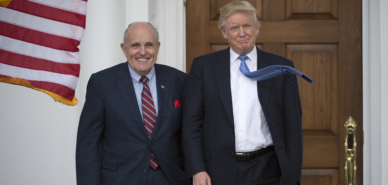 Trump taps Giuliani as cyber security master