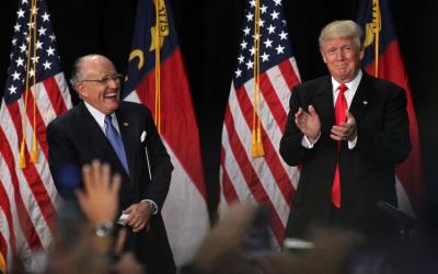 Trump chooses former New york city mayor Rudy Giuliani to oversee effort on cyber security