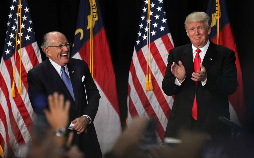 Trump chooses former New york city mayor Rudy Giuliani to oversee effort on cyber security