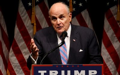 Ex-Mayor Rudy Giuliani, 72, who tidied up streets of New york city reveals he will advise Donald Trump on cyber security because United States is 'so far behind'