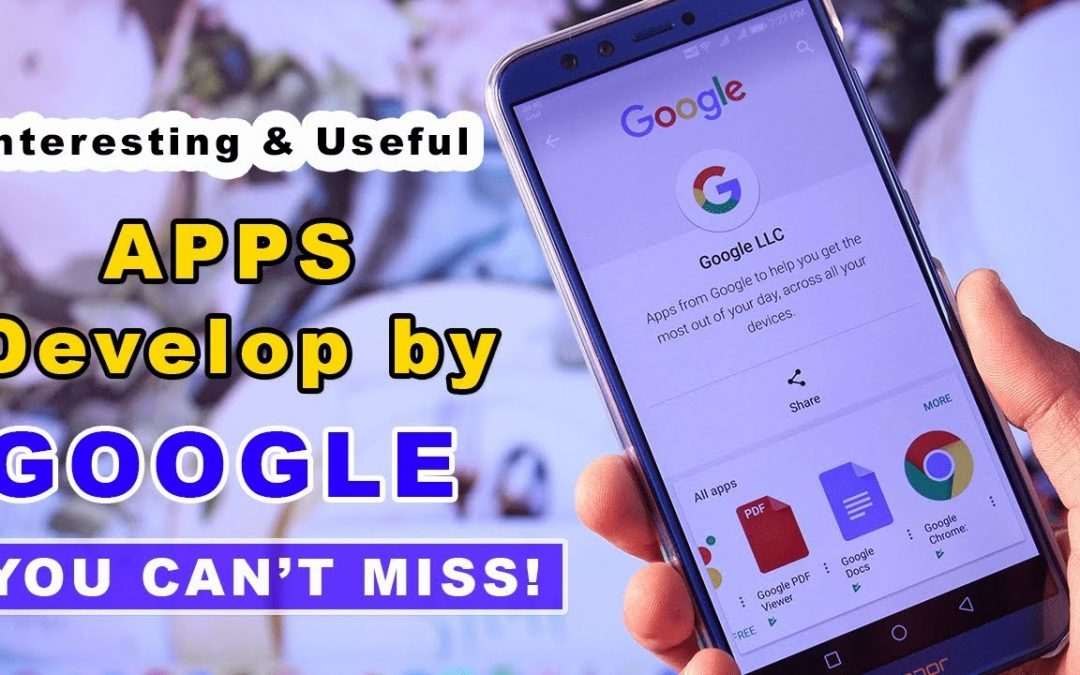 Interesting Android Apps Develop by Google You Can't Miss!