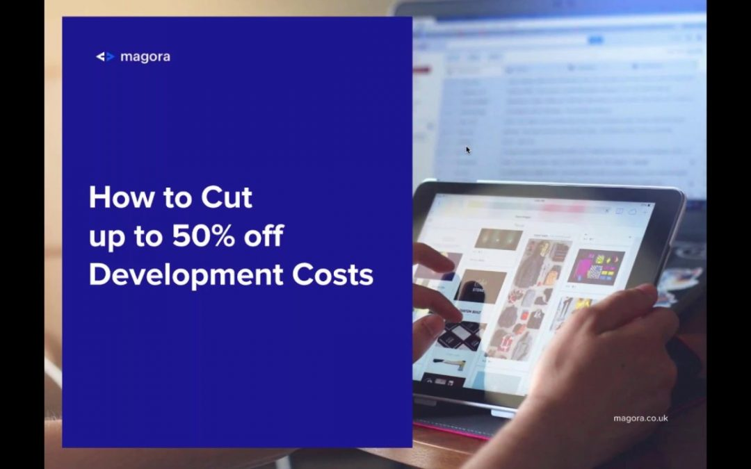 Magora 2018 webinar  How to Cut up to 50% off Mobile Development Costs