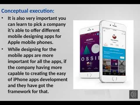 iphone application development Oman