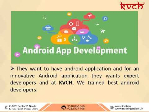 Enroll to 6 Months Training in Android App Development for Better Future