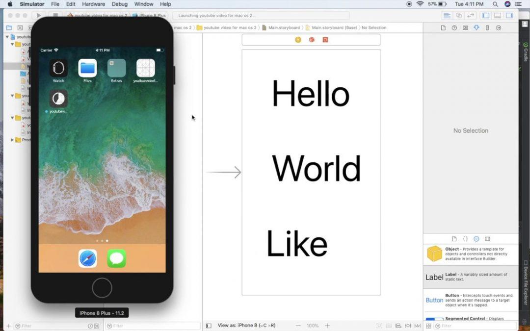 MacBook Air 2017 for mobile app development