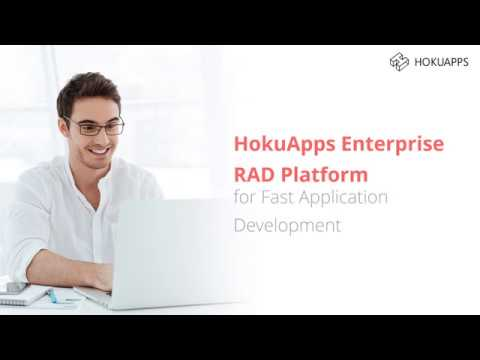 HokuApps Enterprise RAD Platform for Fast Mobile & Web Application Development