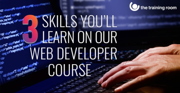 Top 3 skills you'll master on one of our Web Developer courses