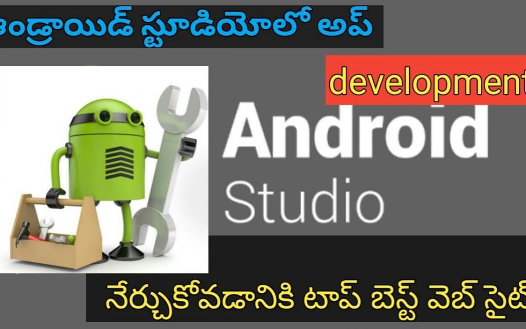 best website to learn android app development  in 2018