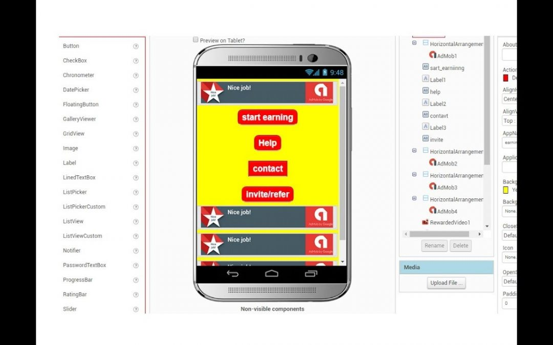 Android apps development tutorial bangla | Appybuilder |  Part-1