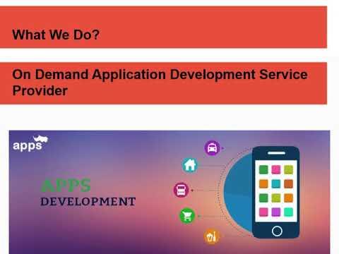 Top On Demand App Development Service Provider