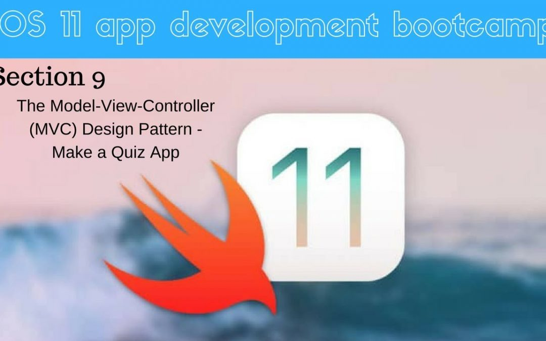 iOS 11 app development bootcamp (053 How to Progress Through the Question Bank)