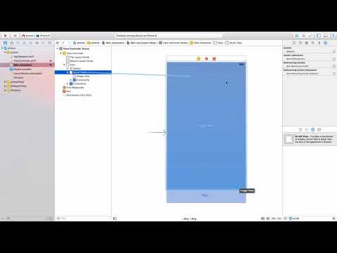 Mobile App Development in 27 Minutes: iOS App : How to add pinch to zoom to a UIImageView