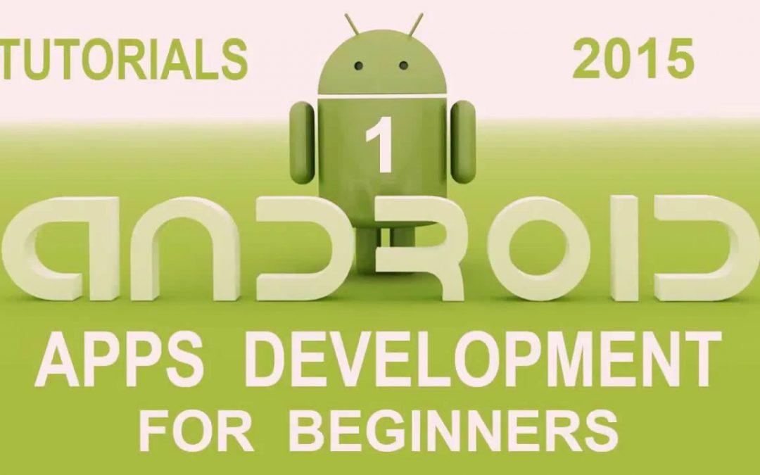 How to start App Development using Android Studio