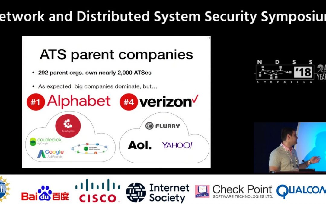 NDSS2018 Apps, Trackers, Privacy, and Regulators: A Global Study of the Mobile Tracking Ecosystem
