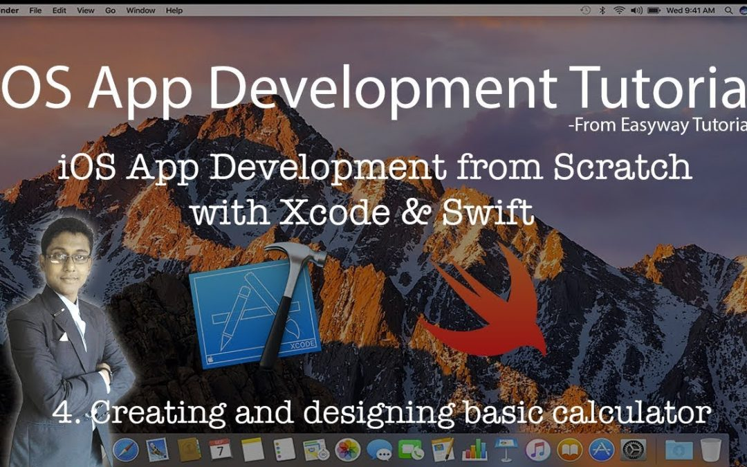 4. iOS App Development with Xcode & Swift – Creating and designing a basic Calculator – Easyway Tuto