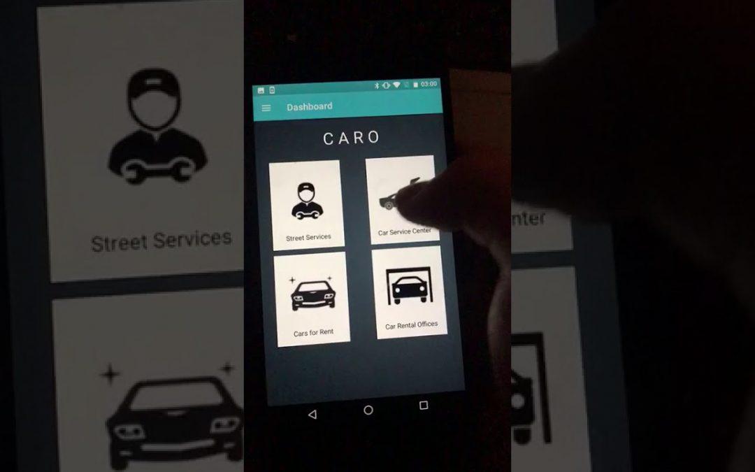 Caro Application demo for Mobile Platform Development.