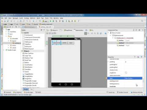 Android App Development for Beginners   17   GridLayout   YouTube