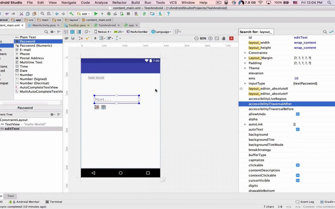 Android Apps Development part 14 | 093 Android 2 3 User Interface Components