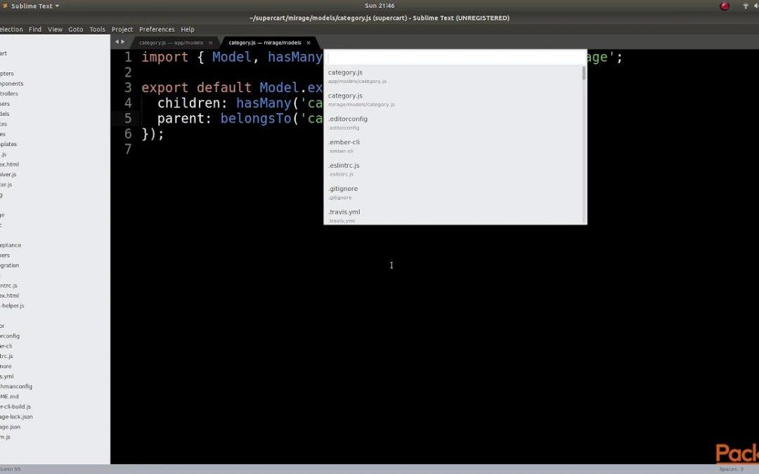 Test Driven Web Application Development with Ember: Reflexive Relationships| packtpub.com