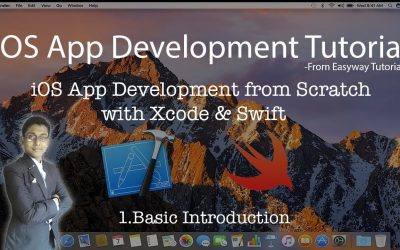1. iOS App Development with Xcode & Swift – Basic Introduction – Easyway Tutorial