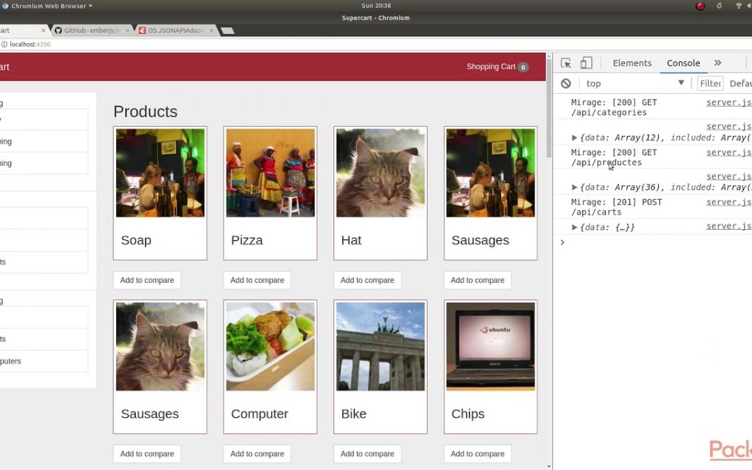Test Driven Web Application Development with Ember: Customizing Adapters| packtpub.com