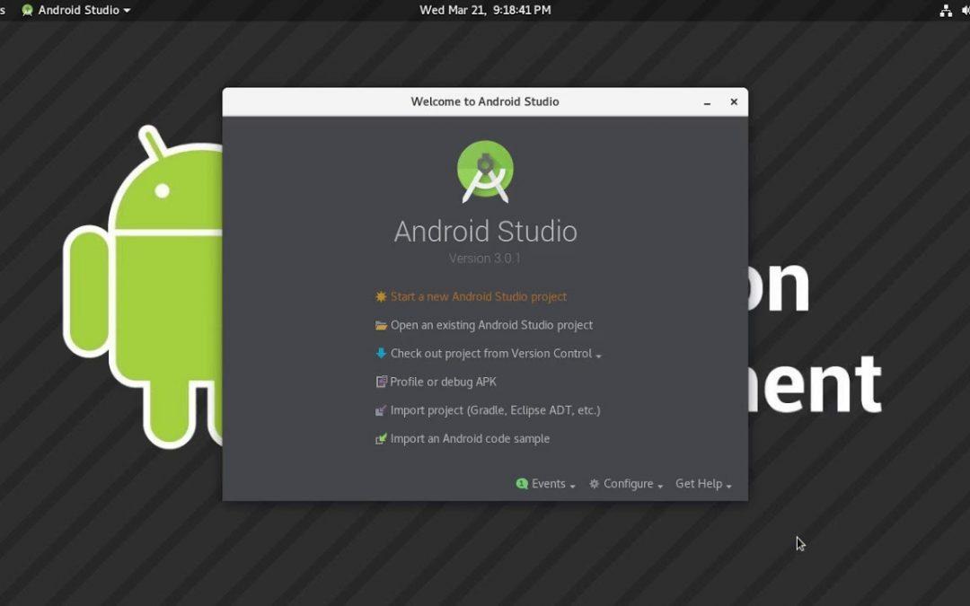 Android Application Development Environment Installation