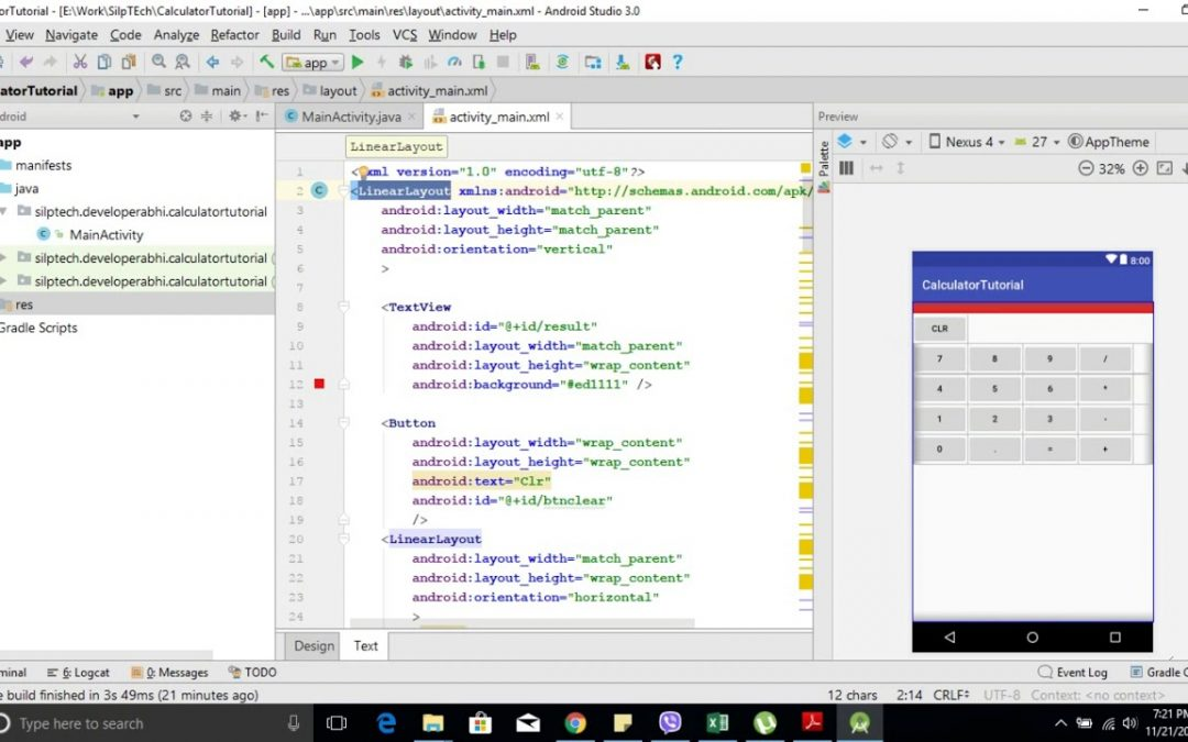 Android Application Development  Series – 3