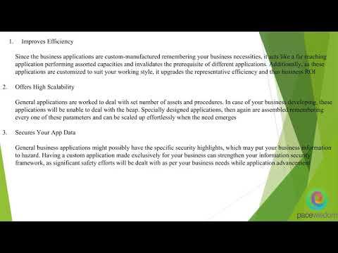 10 BENEFITS OF MOBILE APPLICATION DEVELOPMENT