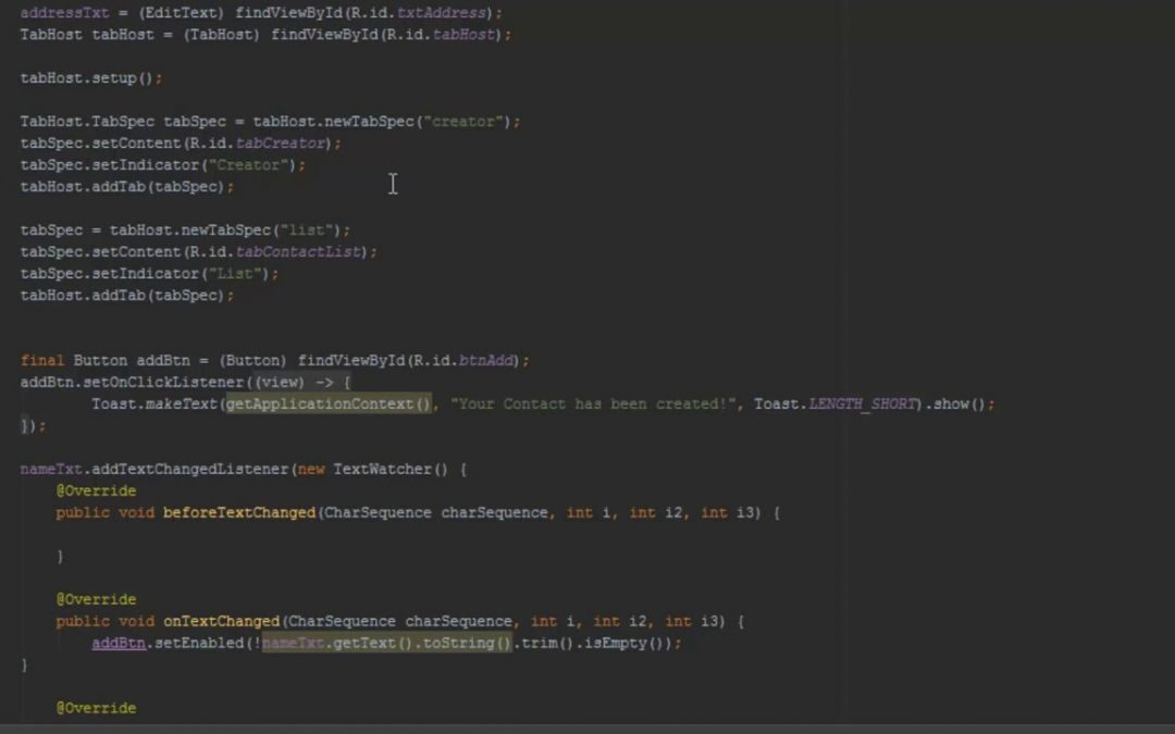 Android Studio App Development Back to the List Part 4