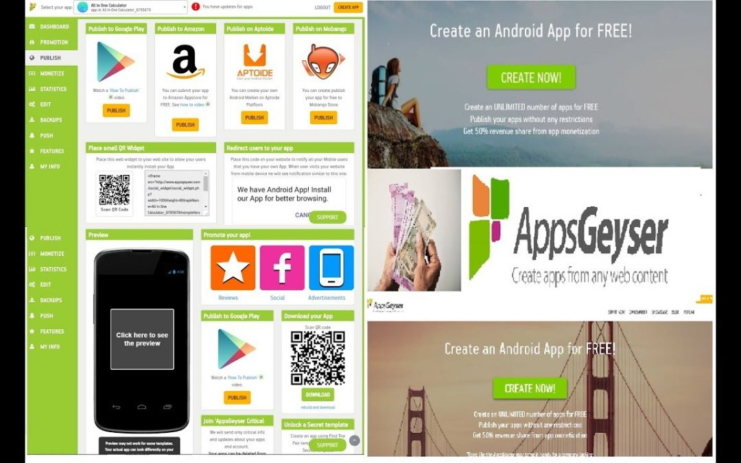How to Create Apps without coding!! |App Developing| |Part – 3| |Earn Money|