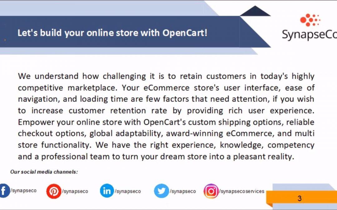 SynapseCo OpenCart Development Company