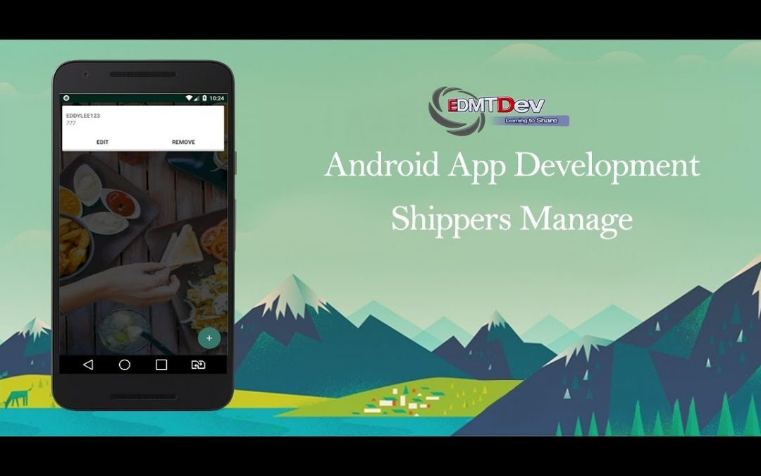 Android Development Tutorial – Order Food App Part 57 Shippers Management