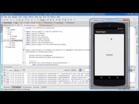 Android App Development for Beginners   22   Running the Gesture App   YouTube