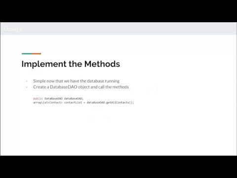 Masterclass session 4 (2018) Android App Development for Beginners