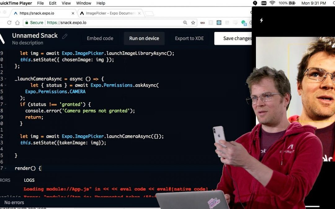Expo Components – Lecture 8 – CS50's Mobile App Development with React Native