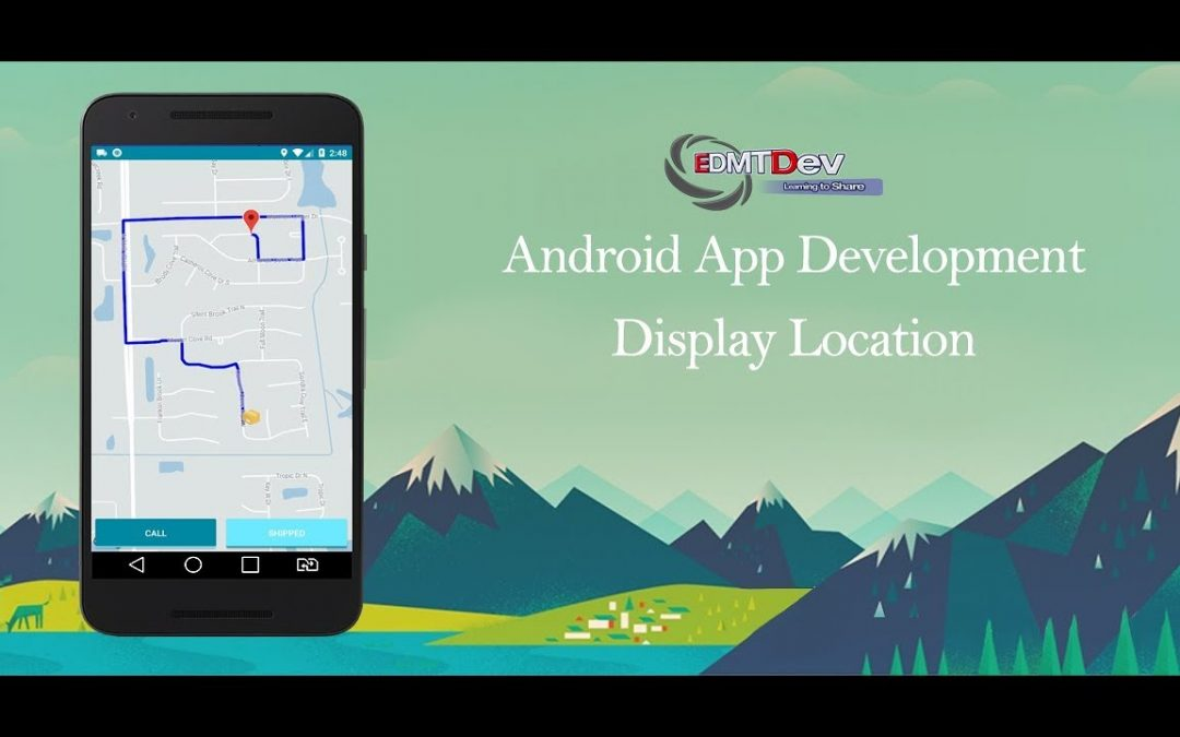 Android Development Tutorial – Order Food App Part 61 Display realtime location shipper app