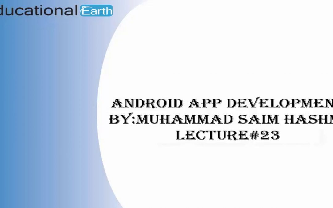 How to implement Spinner|Android App Development | Lecture#23 By Muhammad Saim Hashmi