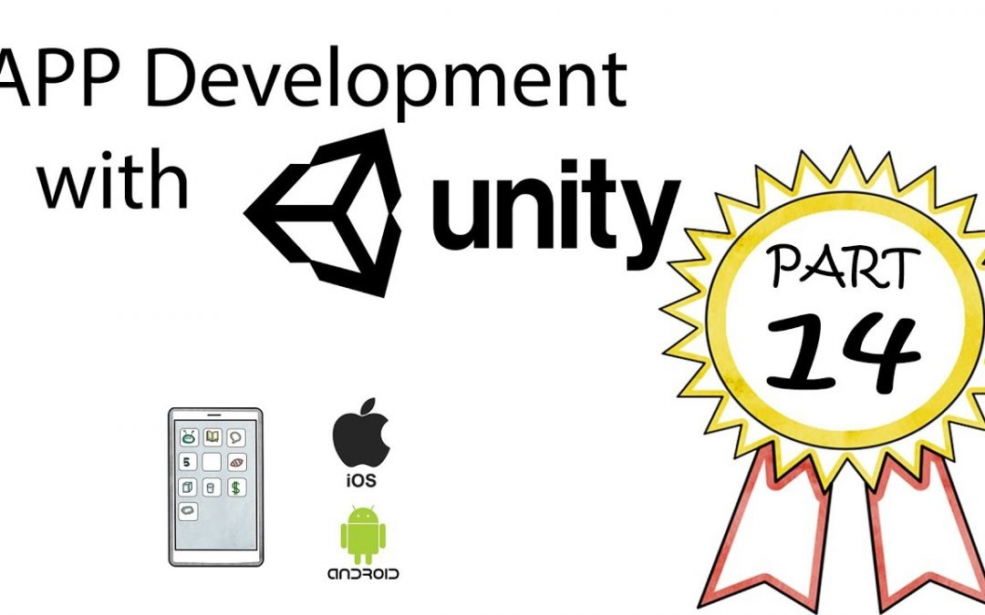App Development with Unity Part 14 – Adding Button Text and Importing Fonts