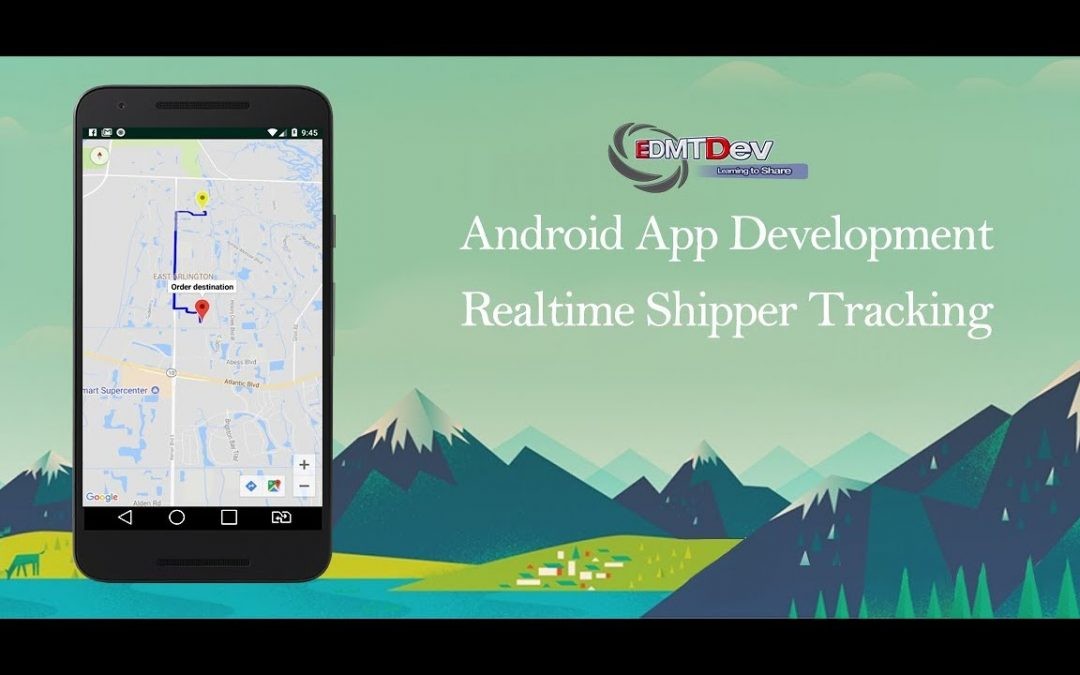 Android Development Tutorial – Order Food App Part 62 Realtime Tracking Shipper