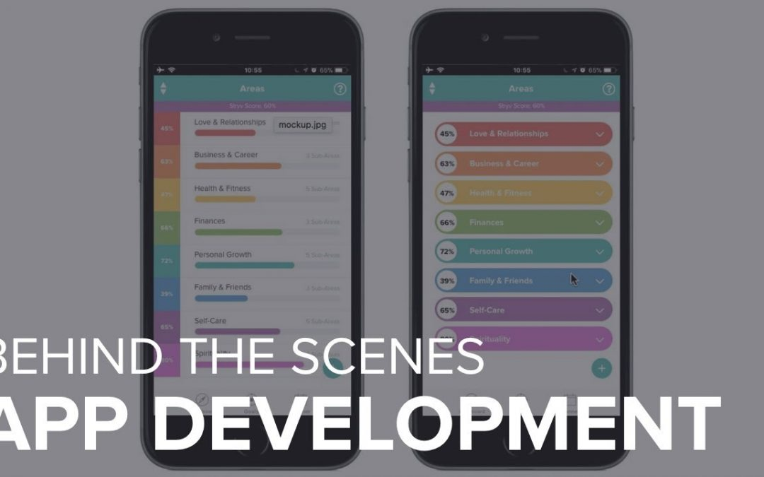 Stryv App Development: Behind The Scenes