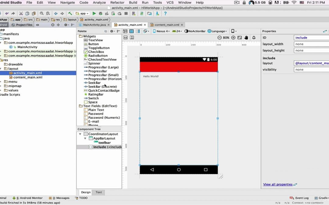 XML Files and Testing |App development free |learn Java