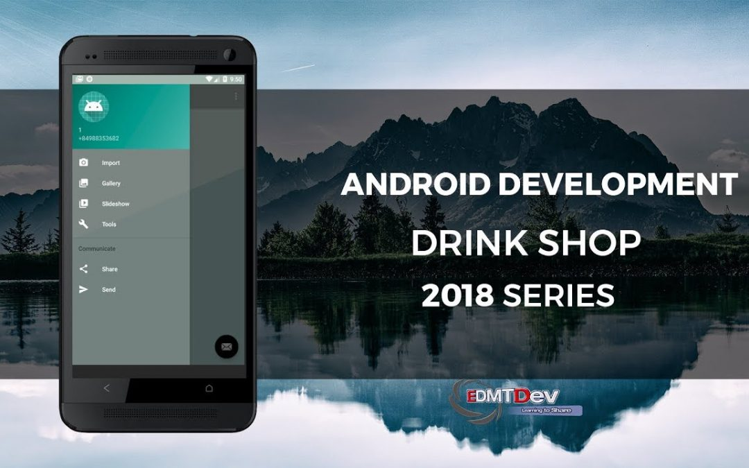Android Development Tutorial – Drink Shop App part 3 (Auto login and get User Information)