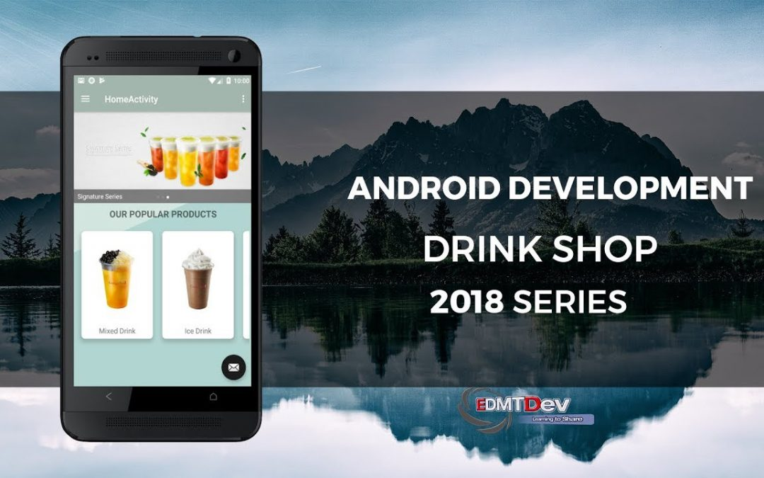 Android Development Tutorial   Drink Shop part 5 Load Category