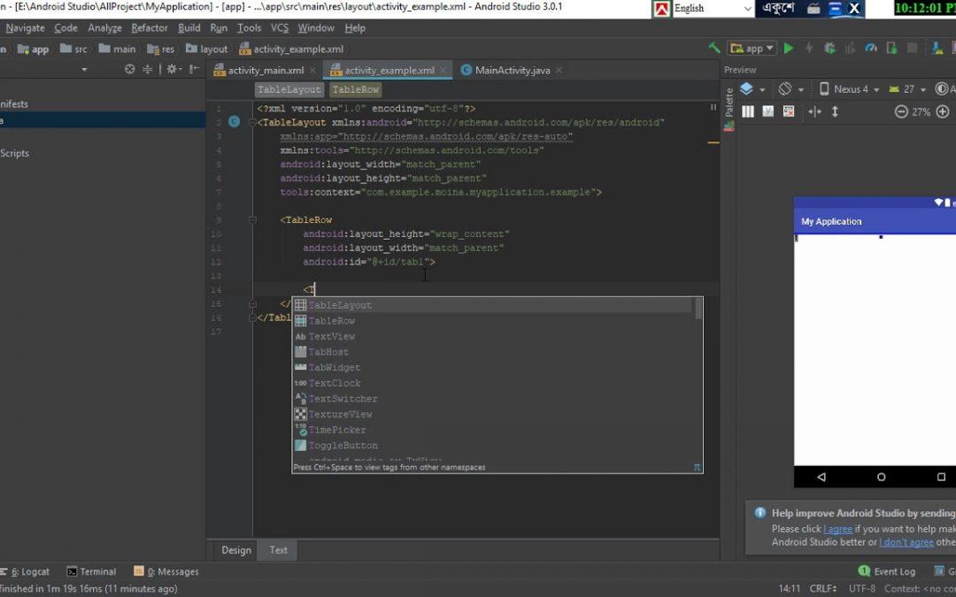 Android App Development Bangla Tutorial Part_7