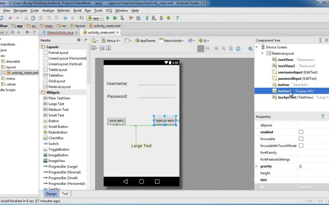 Android App Development for Beginners   66   Shared Preferences Example