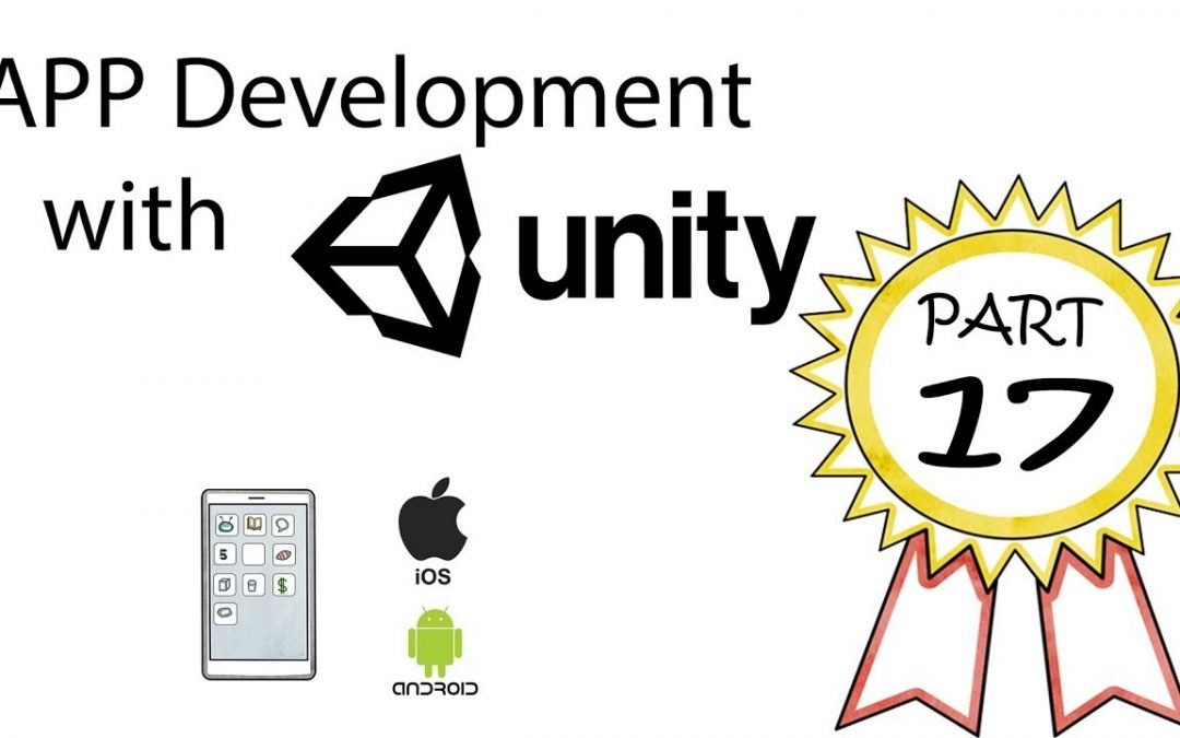 App Development with Unity Part 17: Installing Xcode, iOS Build, and Initial Test.