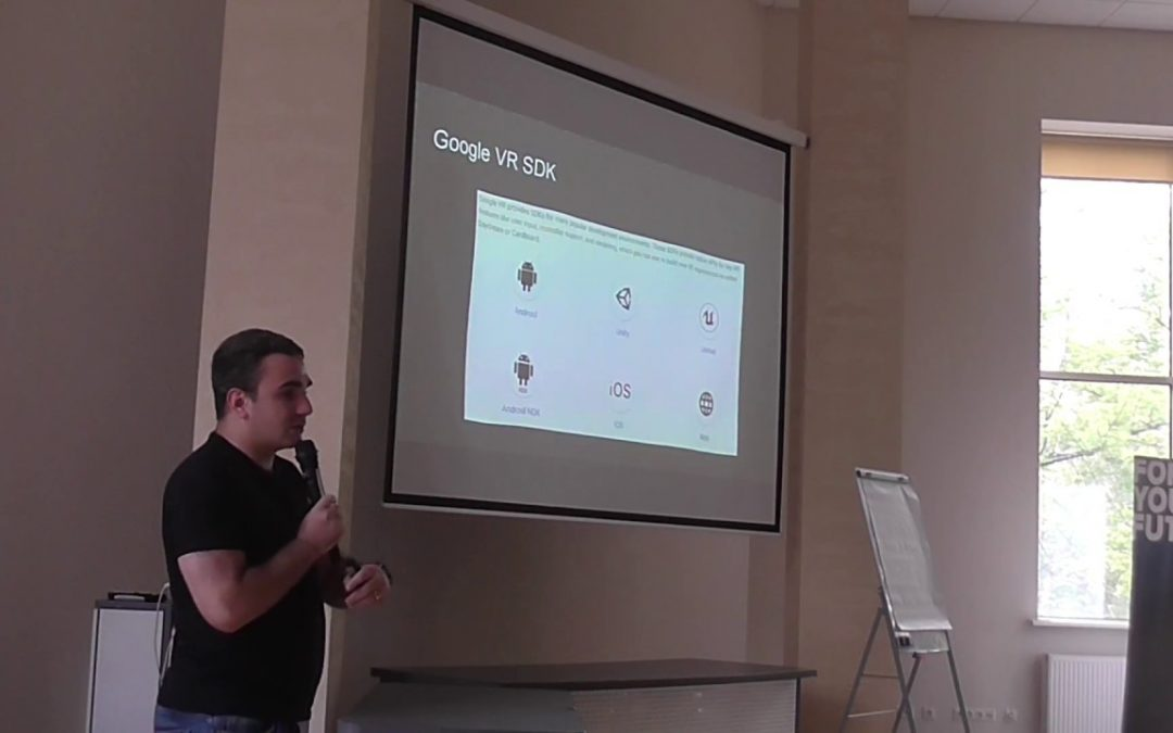 Tools for developing VR mobile applications by Pavlo Nikitin (Rus)
