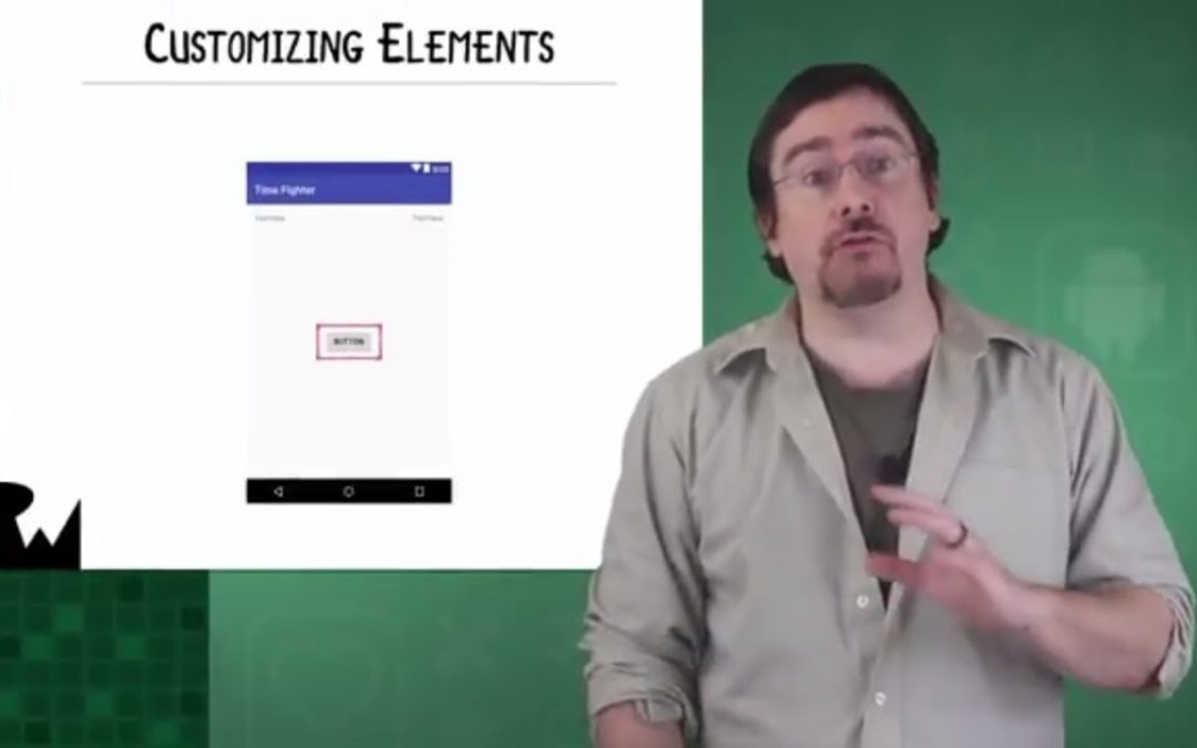 Customizing Elements – Beginning Android Development – Your First Kotlin Android App